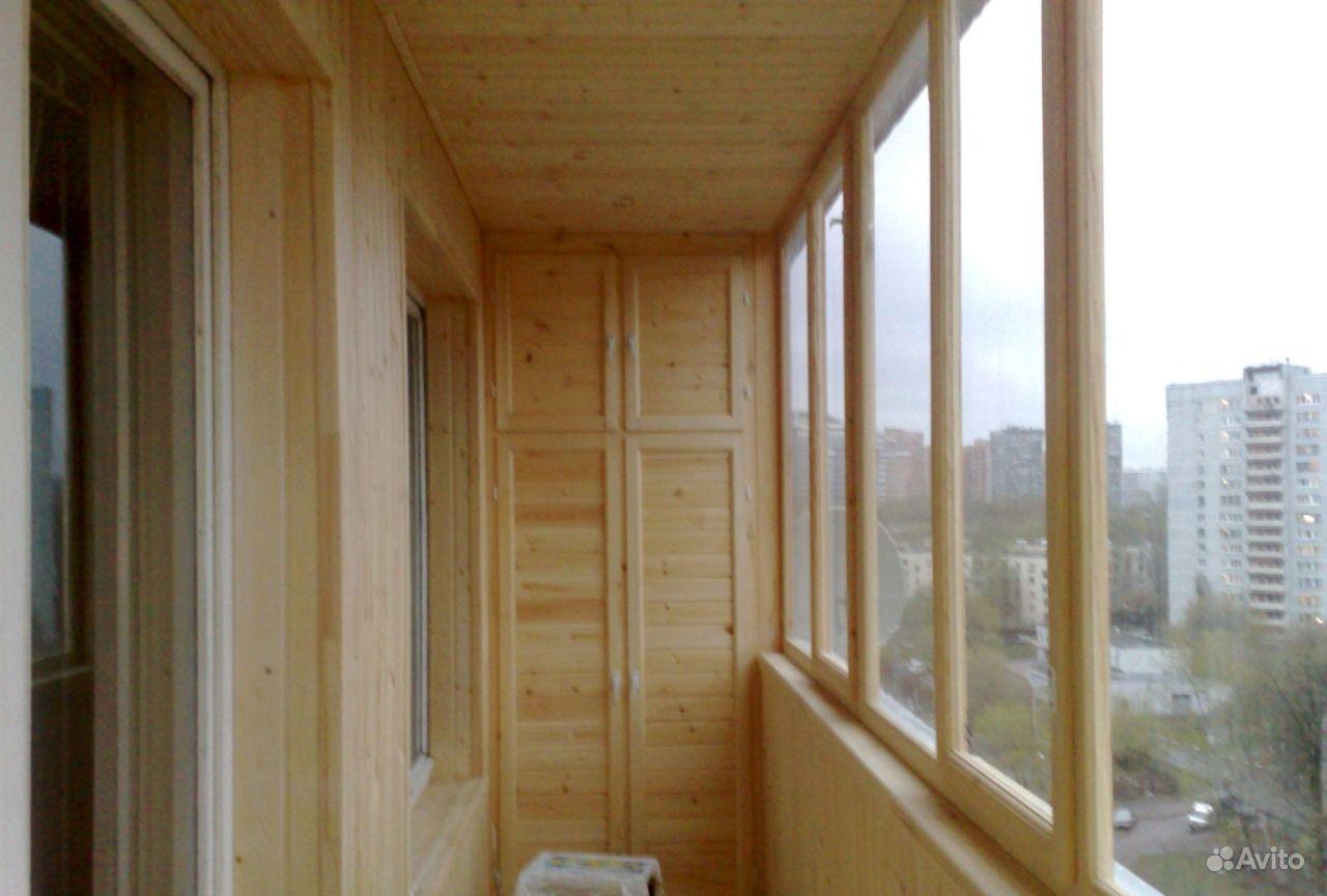 Обшивка балконов - отделочные работы, ремонт - строительные .