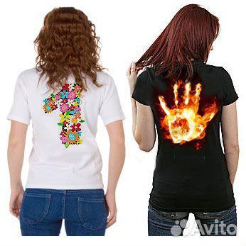 Надпись на черной футболке своими руками