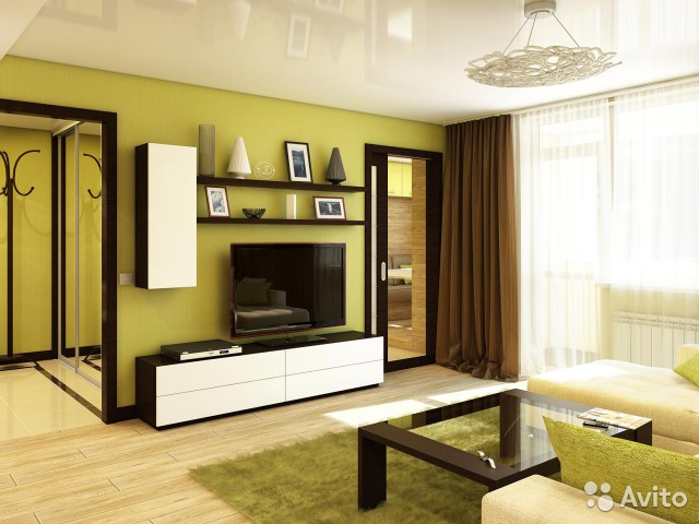 Интерьер 3 х квартиры фото
