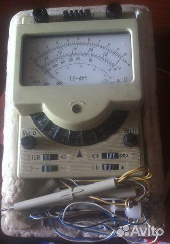 Амперволтомметр-испытатель транзисторов ТЛ-4M.