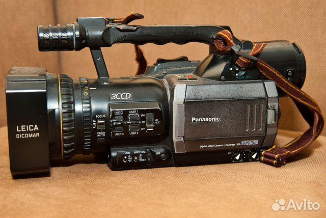 Продам видеокамеру panasonic ag-dvx100be