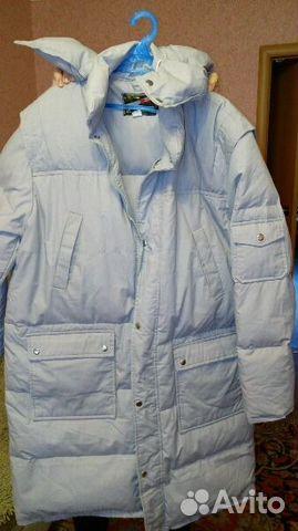 Пуховое пальто 89514530330 купить 1
