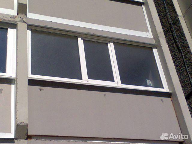 Лоджия 3 метра в 2 стекла с монтажом в тюмени - на портале b.