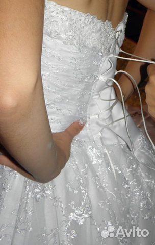 Объявление о продаже Продам свадебное платье в Краснодарском крае на Avito.