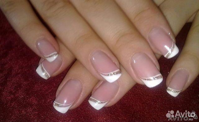 Свои ногти под гелем дизайн