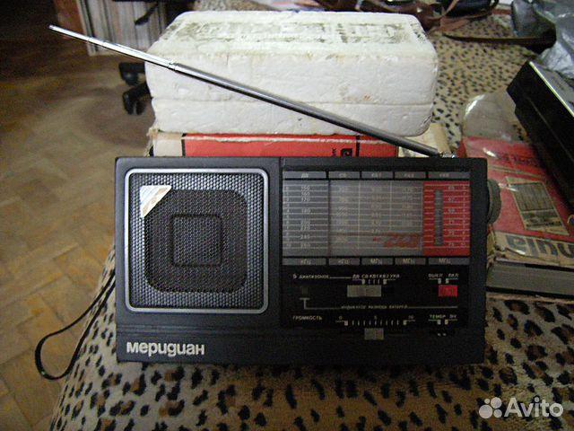 Радиоприёмник Меридиан рп-248