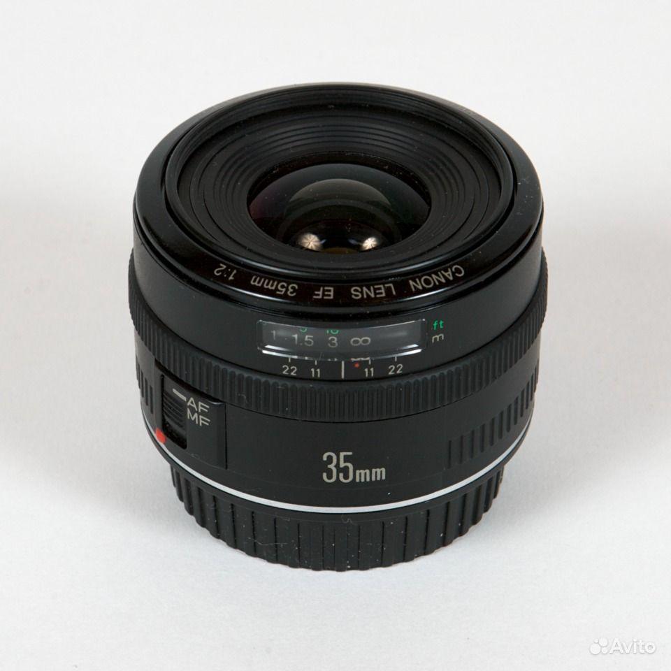 CANON EF 35 mm f/2 : Объективы с постоянным