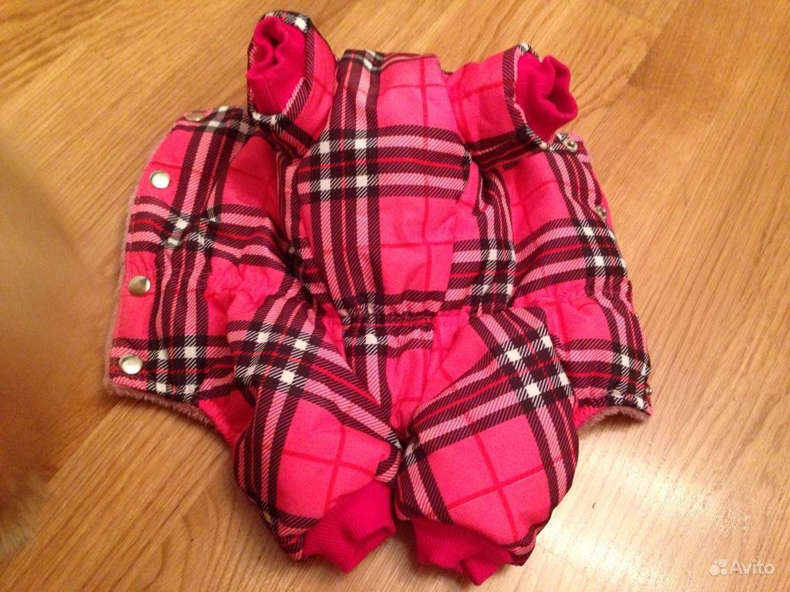 Тёплый зимний костюмчик для собачки