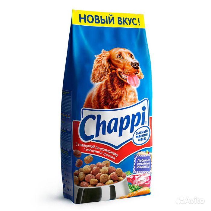Корм для взрослых собак Чаппи говядина 15кг