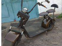 Электро скутер city coco-продаю — Мотоциклы и мототехника в Москве
