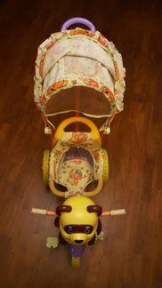 Детский велосипед с Винипухом