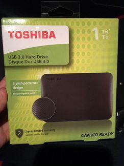 Переносной жёсткий диск toshiba объявление продам