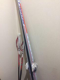 Беговые лыжи объявление продам