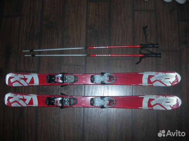 Детские горные лыжи   Festima.Ru - Мониторинг объявлений 3ba3725e02c