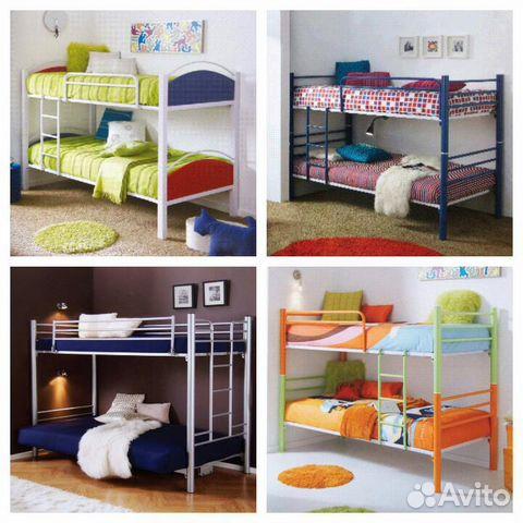 Детская двухъярусная кровать   бу  волгоград
