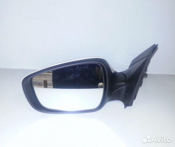 Боковое зеркало заднего вида на хендай солярис