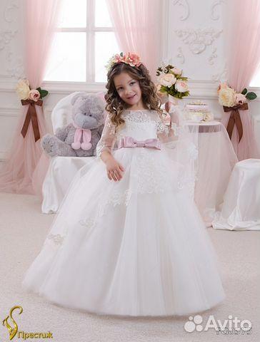 Куплю на авито москва детские платья