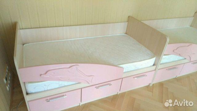 кроватка детская дельфин фото