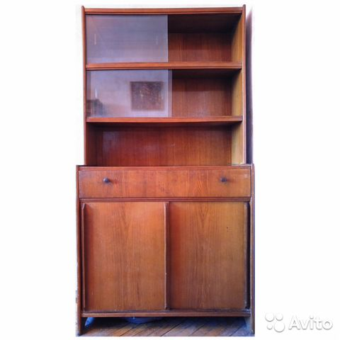 85012e1c44480 Винтажный буфет для кухни кухонный шкаф напольный купить в Москве на ...