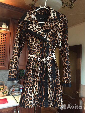 ef1a08ccc074 Продаю итальянский леопардовый плащ купить в Москве на Avito ...