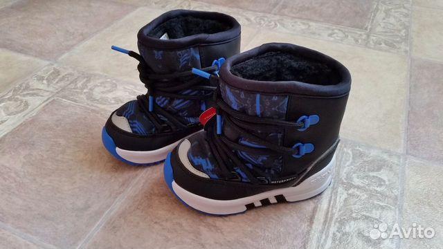 ff2011af Сапоги Adidas Детские новые зимние 22 р - Личные вещи, Детская одежда и  обувь - Москва - Объявления на сайте Авито