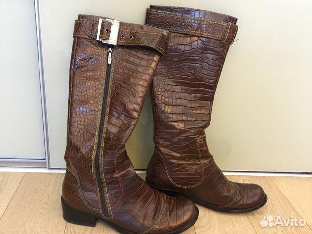 318752a02 Шикарные Демисезонные сапоги из натуральной кожи | Festima.Ru ...