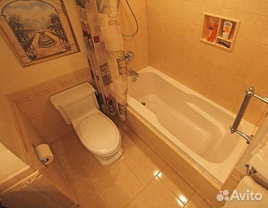 дизайн ванных комнат совмещенных с туалетом фото из панелей #7