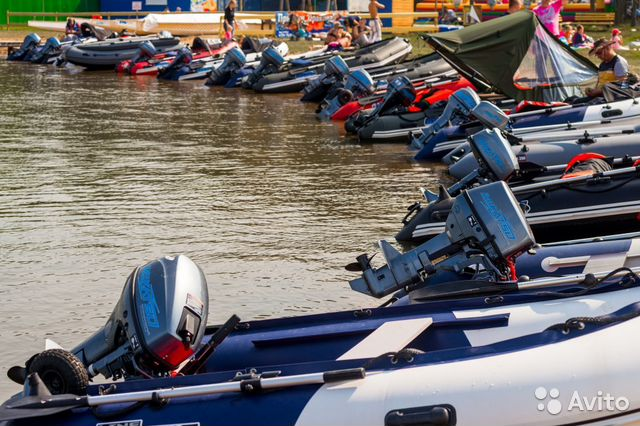 лодки пвх и моторы в казани цены