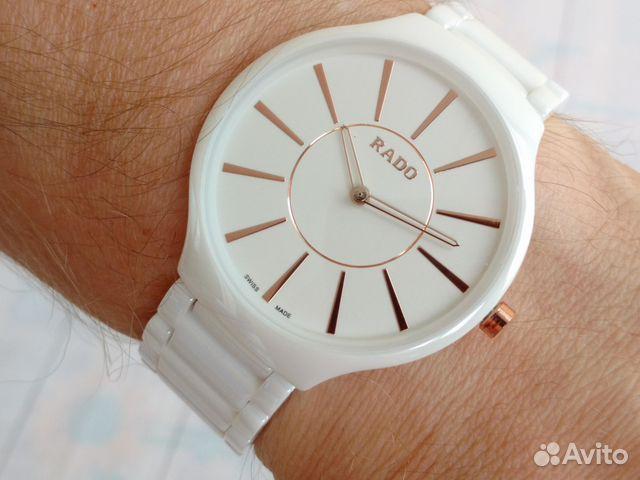 Радо часы белая керамика