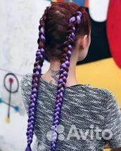 Канекалоны - цветные косички, магазин в Красноуфимске цена 300 руб  купить на Cloudys