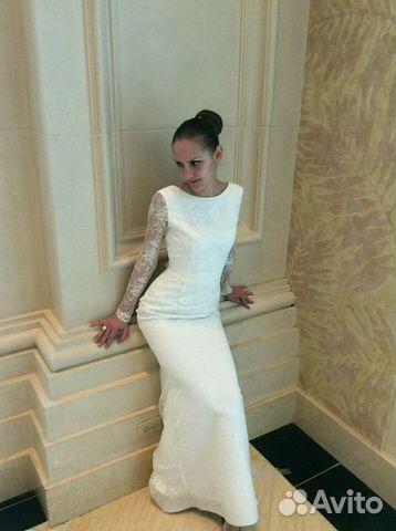 58eb0cb4c83 Свадебное платье (прямое