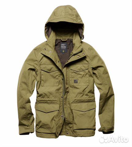 57ef0878867 Куртка vintage industries thomas jacket drab