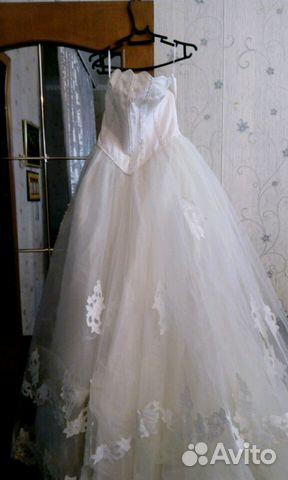 916d12f6e72 Свадебное платье(новое) купить в Москве на Avito — Объявления на ...