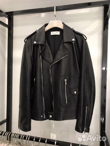 d3553cdfe2d7 Мужская косуха Куртка Dior кожа купить в Москве на Avito ...