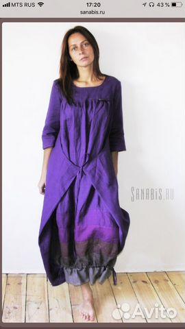 766c83383dd001c Платье льняное в стиле бохо   Festima.Ru - Мониторинг объявлений
