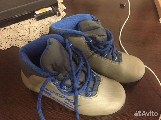 Детские лыжные ботинки   Festima.Ru - Мониторинг объявлений 3be666d9001