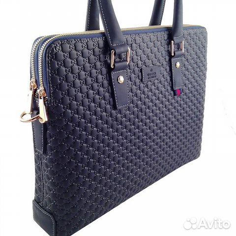 ea2fb4334a24 Мужская сумка портфель через плечо Gucci арт.5072 купить в Москве на ...