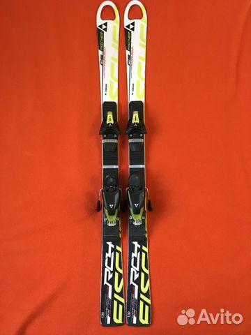 Детские горные лыжи Fischer RC4 WC GS+Креп. RC4 Z9   Festima.Ru ... 3d099cd9cc6