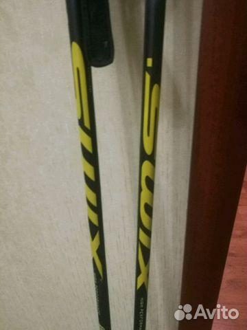 Лыжные палки swix ct7 155 купить в Москве на Avito — Объявления на ... 5532066c3b7