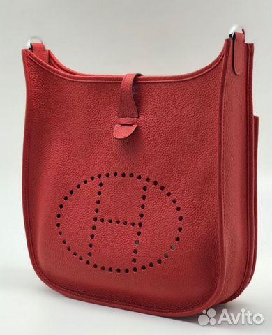095f605e2d8b Женская кожаная сумка Hermes Evelyne купить в Москве на Avito ...