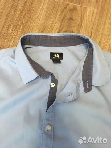 b1b6739fe39 Рубашка для подростков. Голубая купить в Ростовской области на Avito ...