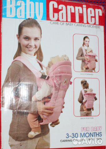 daa571204ef1 Сумка-кенгуру Baby Care, HS-3183,0-30 месяцев купить в Санкт ...