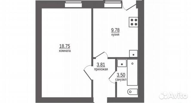 Продается однокомнатная квартира за 1 500 000 рублей. Ямало-Ненецкий автономный округ, Салехард, улица Маяковского, 3.