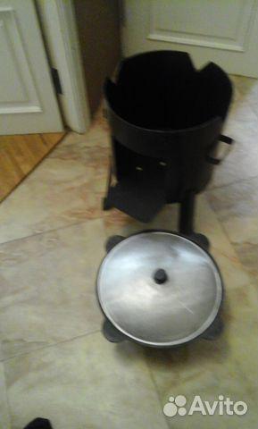 Печь на дровах на 16 литр казан 89894547797 купить 2