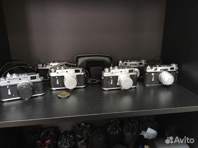 Дальномерные фотоаппараты после профилактики