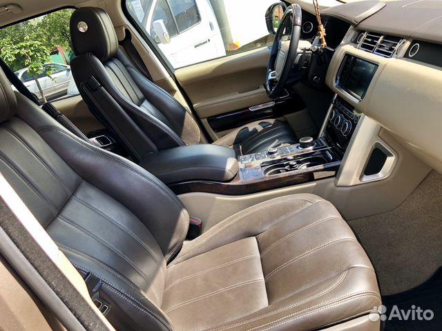 Купить Land Rover Range Rover пробег 79 900.00 км 2013 год выпуска