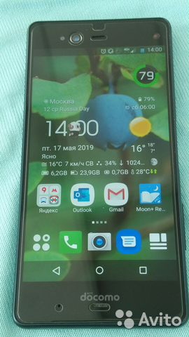 11838b9cc49 Японский телефон Fujitsu arrows NX F-01K купить в Москве на Avito ...