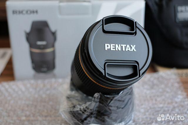 Pentax D FA 50 1.4 SDM AW HD новый, обмен купить 4