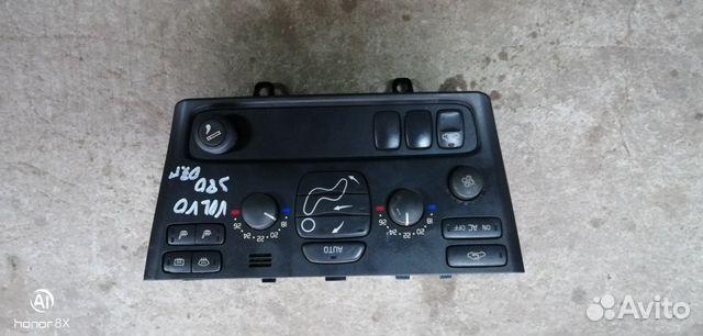 89226688886 Блок управления отопителем (Volvo S80)