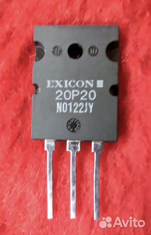 Транзистор exicon 20P20 купить в Краснодарском крае на Avito
